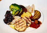 41)鳥取のナガイモ:リルチェンテの前菜盛り合わせ
