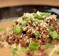 69)トルコの金ごま:チャイニーズタナカの担々麺=大阪市北区、加藤諒撮影