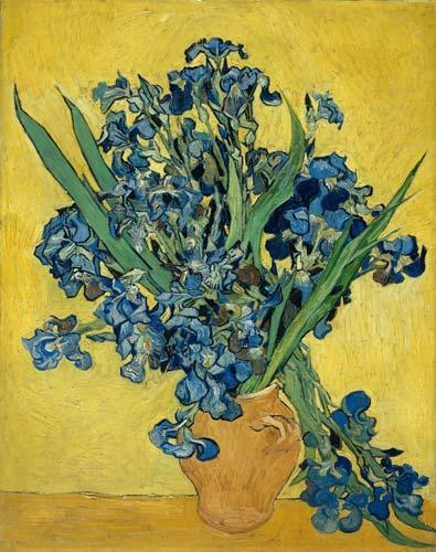 写真:フィンセント・ファン・ゴッホ「アイリス」(1890年) 以上3点(c)Van Gogh Museum, Amsterdam (Vincent van Gogh Foundation)