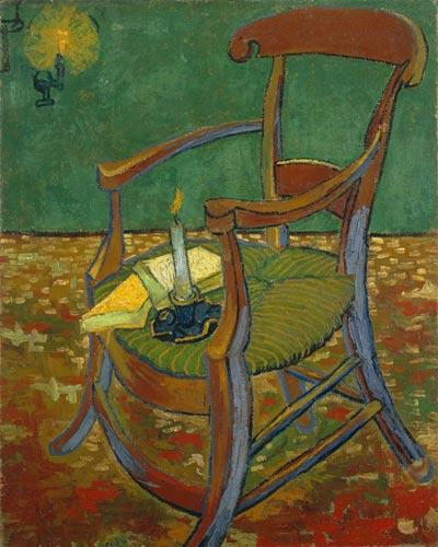 写真:フィンセント・ファン・ゴッホ「ゴーギャンの椅子」(1888年)