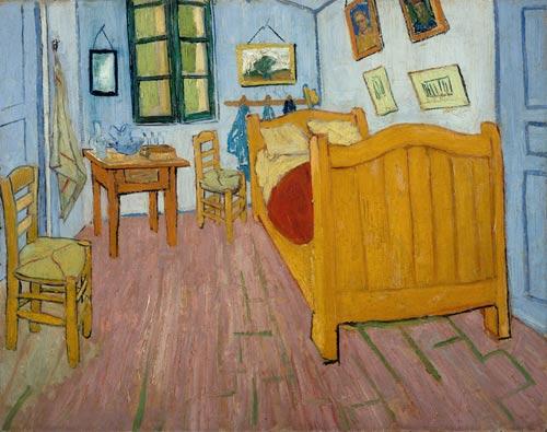 写真:フィンセント・ファン・ゴッホ「アルルの寝室」(1888年)