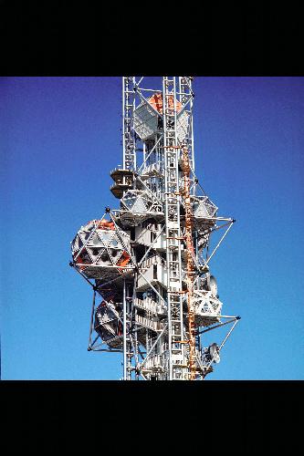 写真:菊竹清訓設計「エキスポタワー」(1970年)