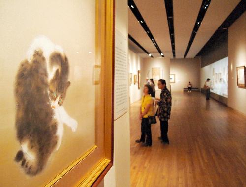 写真:山種美術館「日本画どうぶつえん」展