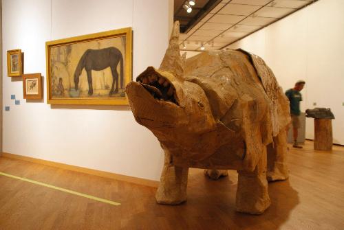 写真:小杉放菴記念日光美術館「美術館は動物園」展
