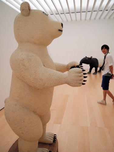 写真:横須賀美術館「集まれ!おもしろどうぶつ」展