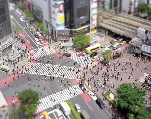 写真:本城直季「渋谷」(2006年)