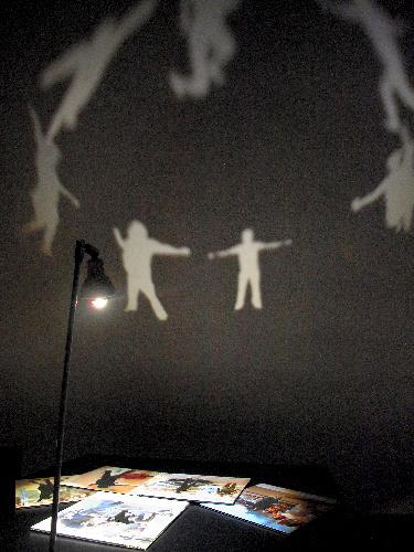 写真:イ・チャンウォン「パラレル・ワールド」(2012年)の展示
