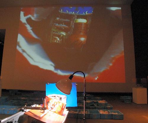 写真:伊藤隆介「そんなことは無かった」(2012年)などの展示