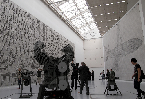 写真:トマス・バイルレ(独)の展示空間