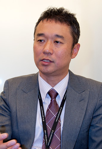 写真:千趣会業務本部情報システム部の高田拓治部長