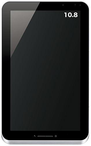 写真:画像2:「GALAPAGOS」、10.8型モデル。持ち運びを重視しない家庭向けモデル。5万4800円(シャープ直販のみ)