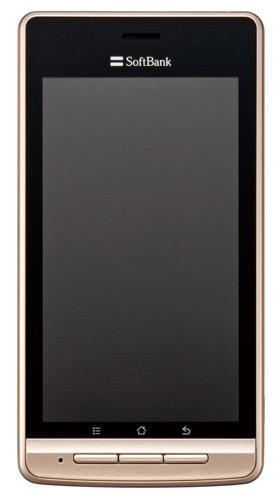 写真:画像4:ソフトバンクモバイルが11月に発売を予定している「LUMIX Phone 101P」。ULTRA SPEED対応エリアでは、下りの通信速度が最大21Mbpsに高速化する
