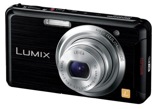 写真:画像1:パナソニックの「LUMIX DMC—FX90」(実勢価格2万1600円)。外観は普及型のコンパクトデジカメで、実売も2万数千円とそう高くない