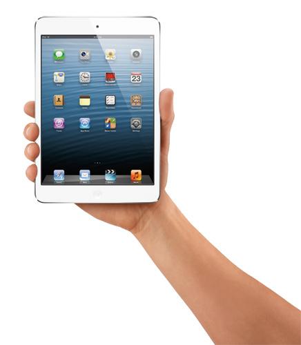 写真:iPad mini(アップル)。Wi—Fiモデル・16GBモデル2万8800円から(提供:アップル)