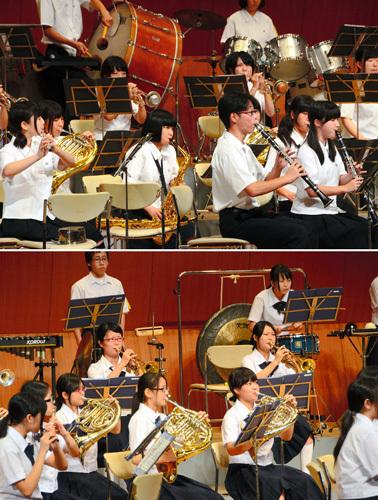 4校が関西出場へ 奈良県吹奏楽コン・中学高校小編成
