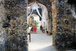 ザンジバル郊外にあるスルタンの宮殿は、独立後はコンクリート置き場になり、荒れ果てていた