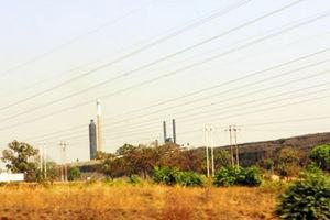 キトウェの火力発電所