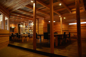 写真:コミュニティデザインの本質が凝縮された空間だ。