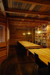 写真:studio−Lの伊賀事務所。使われなくなった木々が見事によみがえった。