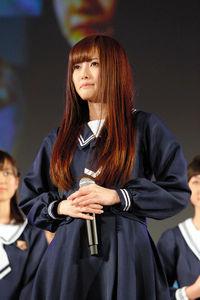 乃木坂46の新センターに選ばれた白石麻衣=ソニー・ミュージックレコーズ提供