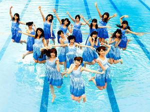 6thシングル「ガールズルール」を披露する乃木坂46=ソニー・ミュージックレコーズ提供