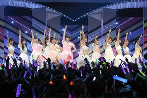 Zepp Tokyoでライブをする乃木坂46=ソニー・ミュージックレコーズ提供