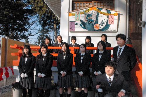 白岡高等学校制服画像