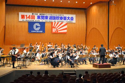 写真:日ごろの成果を見せたプレコンサート=千葉市中央区