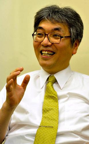 写真:予備校講師・竹岡広信さん