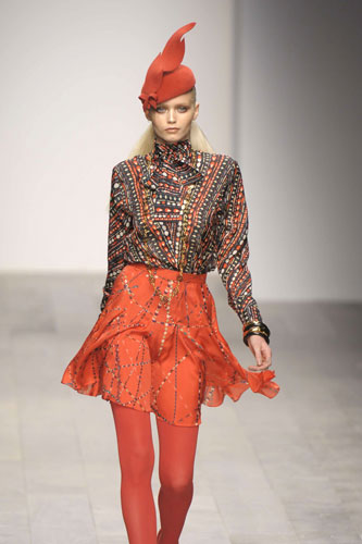 asahi.com(朝日新聞社):ロンドン・ファッション通信2 ケイト嬢御用達ブランドは「アゲアゲ」 , ビューティー , ファッション&スタイル