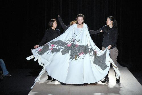 写真:(5)ヒスイ (C)日本ファッション・ウィーク推進機構
