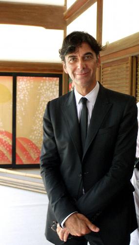写真:グッチ本社のパトリツィオ・ディ・マルコ社長兼CEO