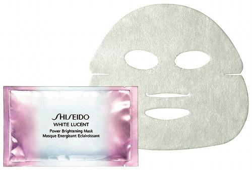 写真:資生堂が発売する薬用美白マスク「ホワイトルーセント パワーブライトニング マスク」