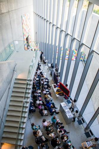 写真:21_21デザインサイトで行われたイベントの様子 撮影: 吉村昌也