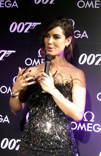 写真:映画「007 スカイフォール」でボンドガールを務めた女優ベレニス・マーロウ