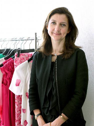 写真:ソフィ・ドゥラフォンテーヌ 1968年フランス生まれ。95年から現職