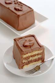 写真:チョコレートケーキ