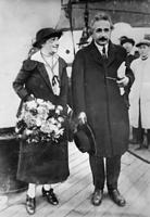 1922年11月、神戸港から来日したアインシュタイン夫妻
