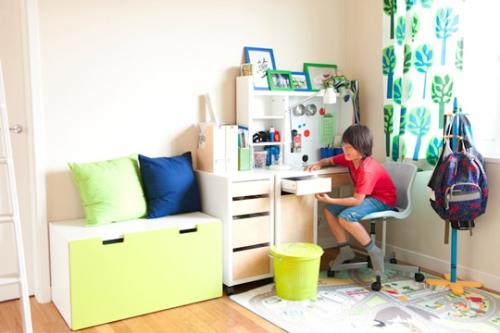 画像 : 【シンプル】IKEA&無印良品の学習机のあるインテリア実例【入学準備】 - NAVER まとめ