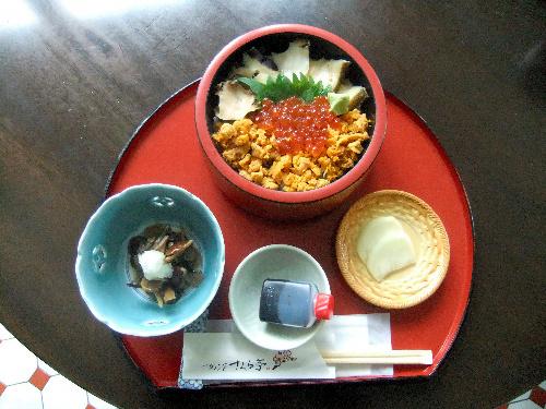写真:井山名人が注文した海鮮丼