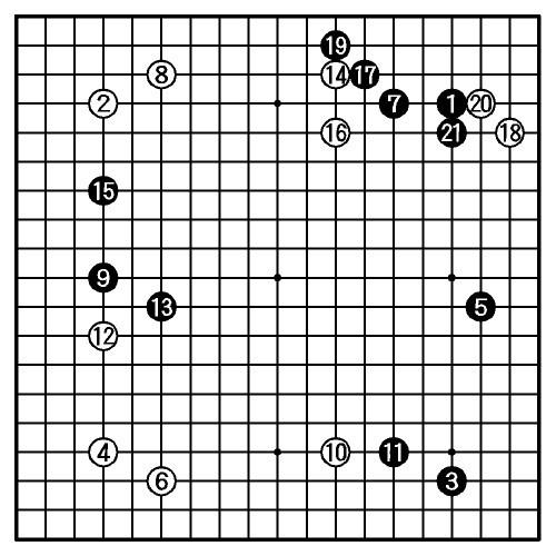 写真:途中図(1—21)