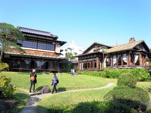 写真:大正、昭和初期の建築が美しい起雲閣=熱海市、小川雪撮影