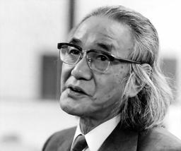 写真:囲碁二十三世本因坊の坂田栄男さん