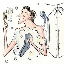 〈出石尚三 紳士服飾研究〉洗濯のコツは手洗いで湯を使う