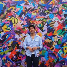 東洋と西洋を鮮やかにつなぐ松山智一さんのアート作品