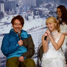 "E-girlsに皆川賢太郎が""ゲレンデの恋""もレッスン?"