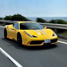 V8フェラーリの頂点「458スペチアーレ」に試乗