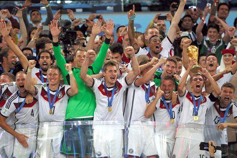 ドイツ、4度目のW杯優勝 延長後半、ゲッツェが決勝点