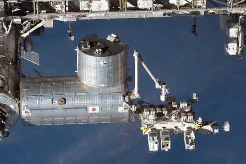 日本実験棟「きぼう」=宇宙機構、NASA提供