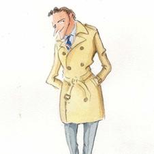 「トップコートの研究」 春・秋の季節に羽織る